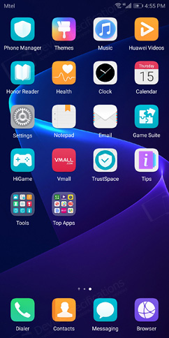 Huawei Honor V10 Review - OS, UI, Settings menu, applications