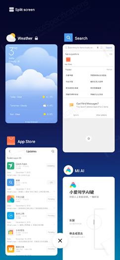 Xiaomi Mi MIX 3 Review - OS, UI, Settings menu, applications