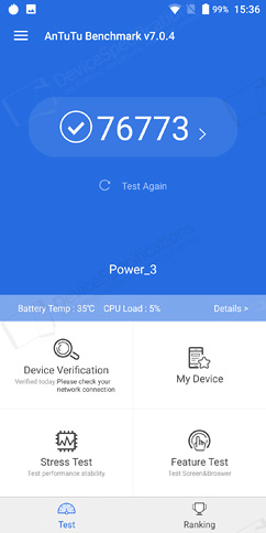 Ulefone Power 3 Review - Performance, benchmarks