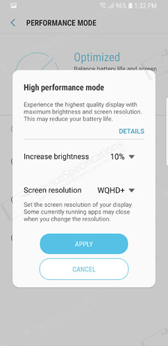 how to give application permission to memory s9