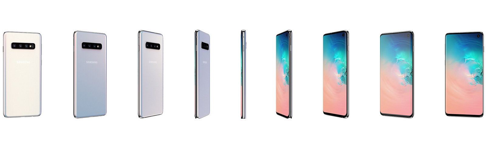 Samsung Galaxy S10 Review - Design and layout