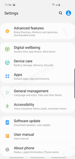 Samsung Galaxy S10 Review - OS, UI, applications, settings
