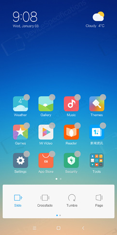Xiaomi Redmi 5 Plus Review - OS, UI, Settings menu, applications