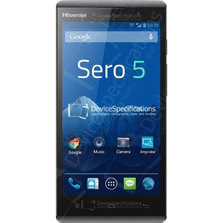 HiSense Sero 5 - Specifications