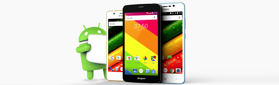 Zopo updates to Android 6.0 the Color C, Color E and Color S5.5