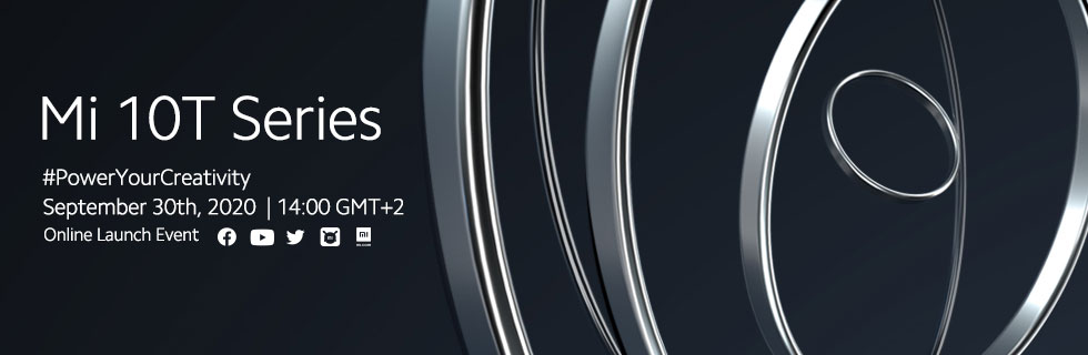 Xiaomi Mi 10T and Mi 10T Pro will be announced on September 30th
