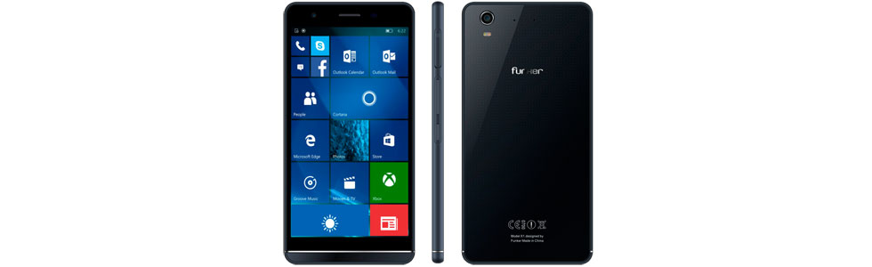 """Funker outs a Windows 10 smartphone with 4G support and a 5.5"""" HD display"""