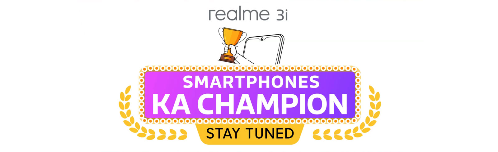 Realme 3i gets teased on Flipkart, India launch is imminent