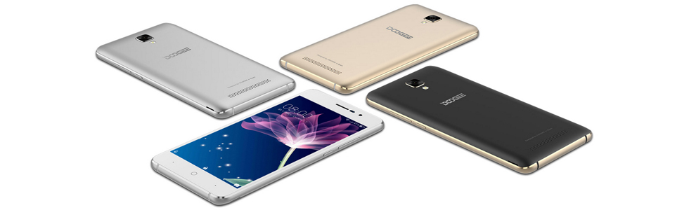 Doogee presents the entry-level X10 with a metal frame and a 3360 mAh battery