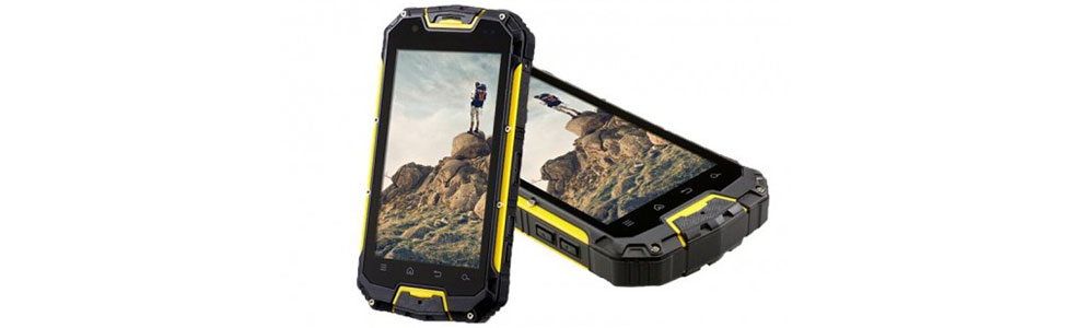 Vchock M9 is a rugged 4G smartphone that can function as a Walkie-Talkie