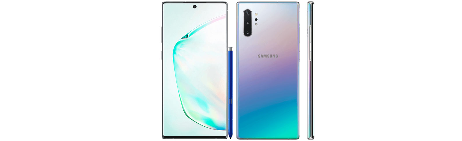 Samsung Galaxy Note 10 and Galaxy Note 10 Plus official renders leak