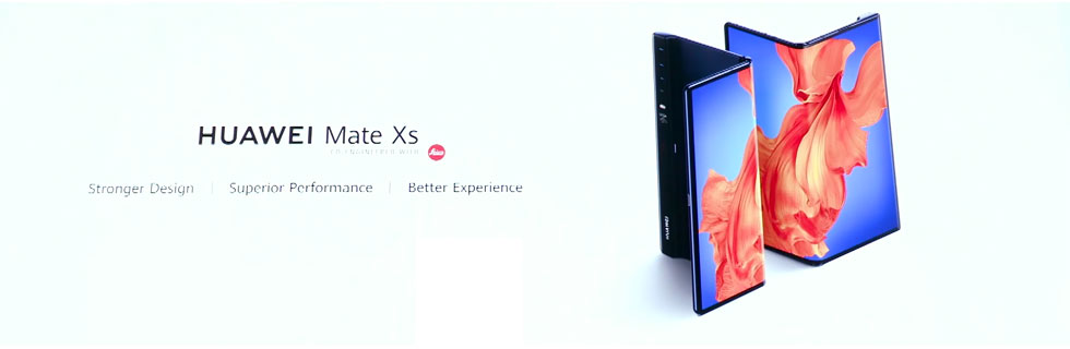 The Huawei Mate Xs goes official with improved design and performance