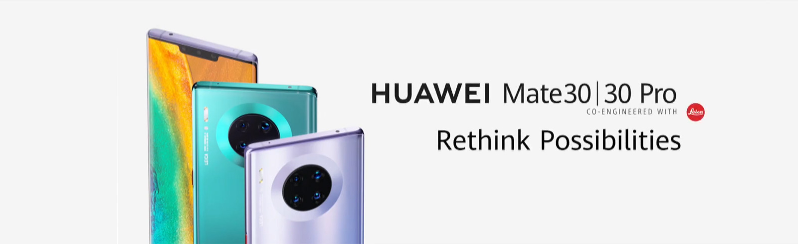 The Huawei Mate 30 and Huawei Mate 30 Pro go official together with the Mate 30 RS