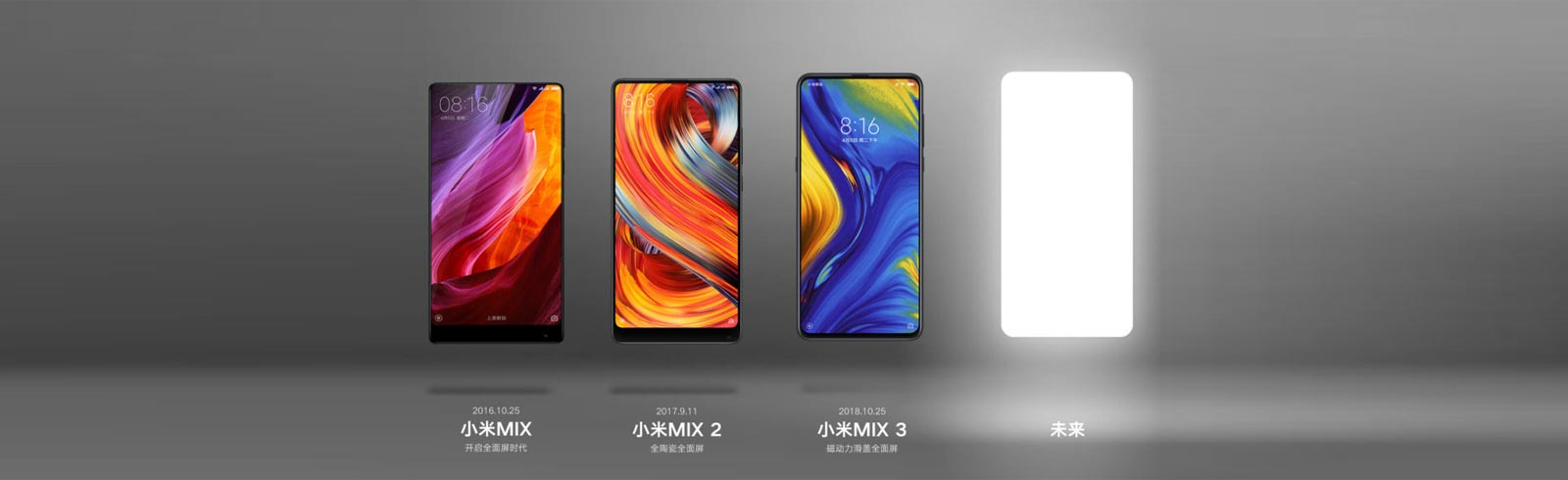Xiaomi Mi MIX 4, Xiaomi Mi 9S (5G) and MIUI 11 will be presented on September 24th