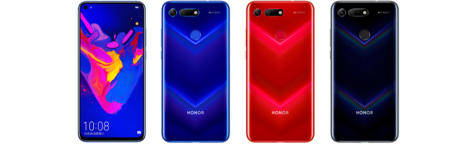 Huawei unveils the Honor V20 with a 48MP Sony IMX586 main shooter, 3D ToF camera and Infinity O display