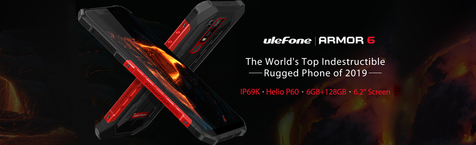Ulefone Armor 6 final specs confirmed