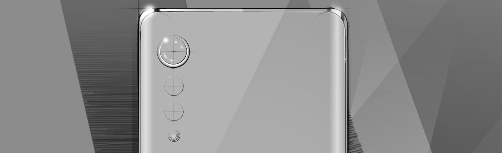 LG teases a new smartphone with 3D Arc Design and raindrop camera design