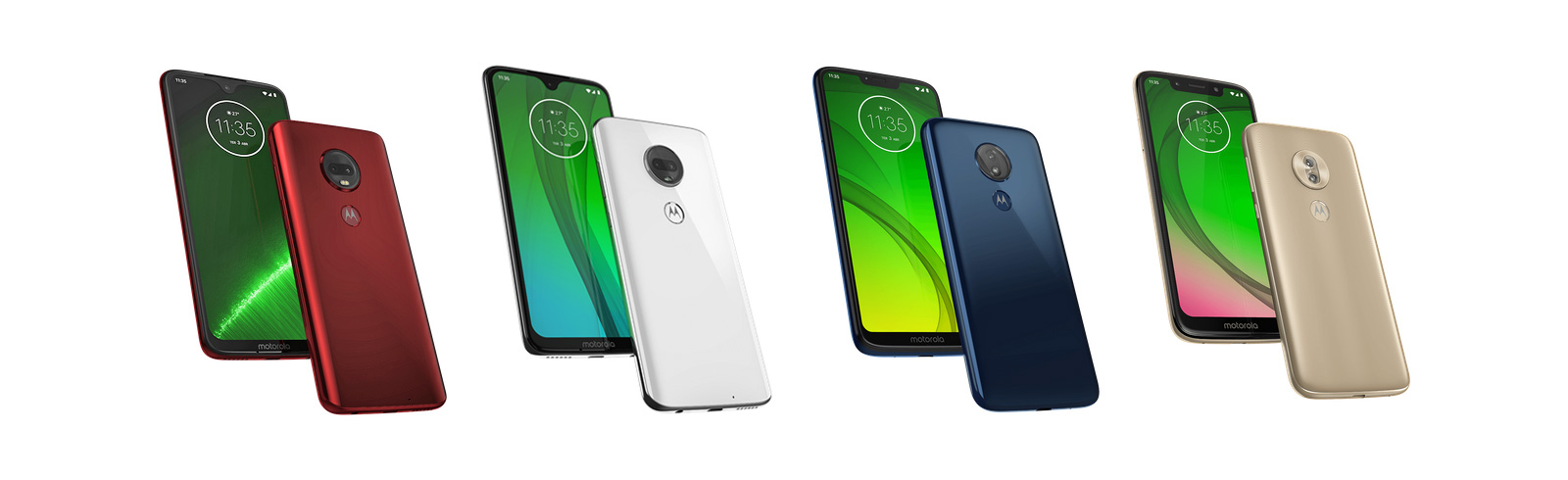The Moto G7 series is official, includes the Moto G7, G7 Plus, G7 Power, and G7 Play