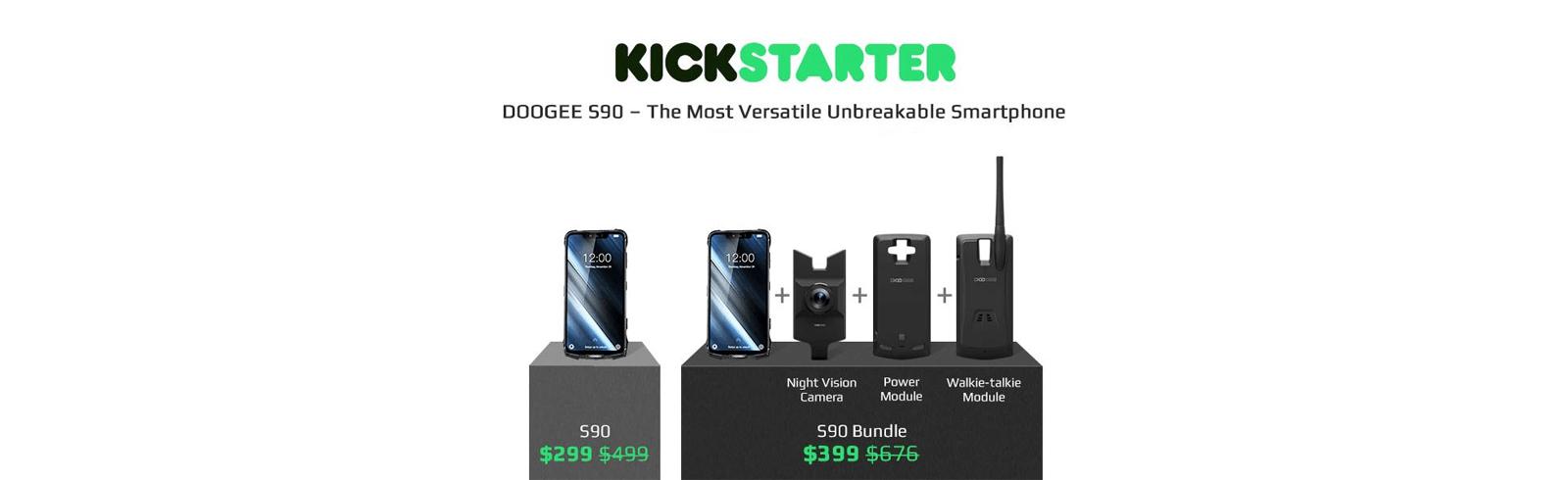 Doogee S90 with Digital Walkie Talkie - a versatile communication tool
