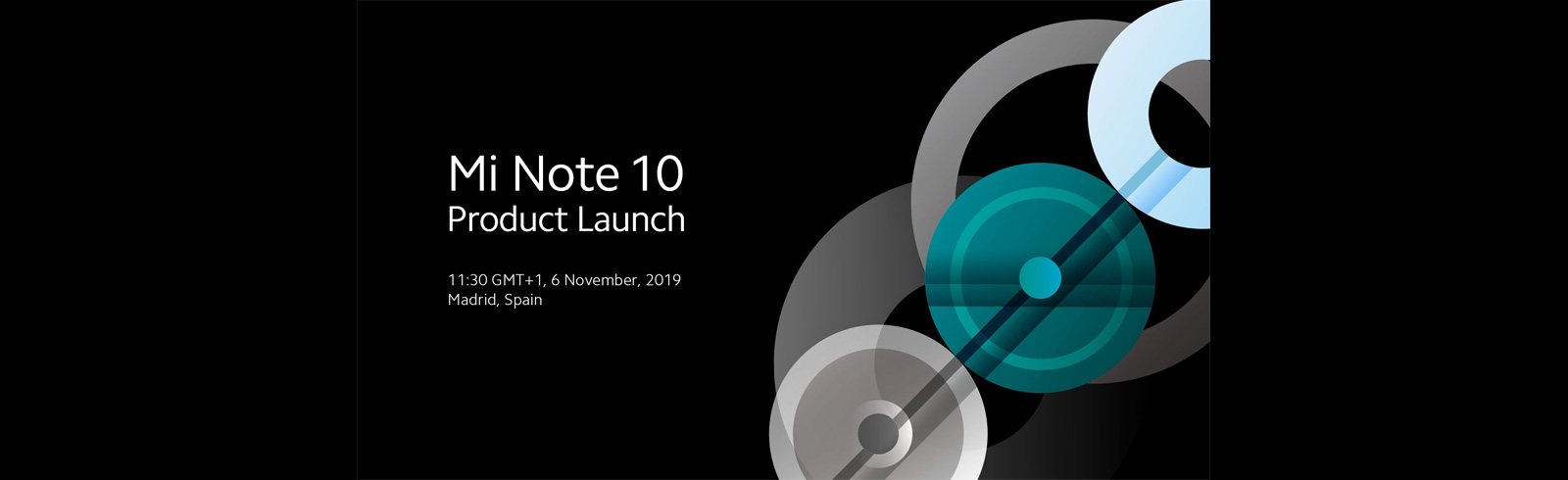 Xiaomi draws the Mi Note 10 launch date earlier than expected