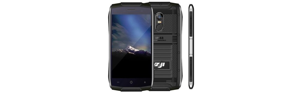 ZOJI Z6 - yet another 3G rugged smartphone with a metal frame and IP68 certification