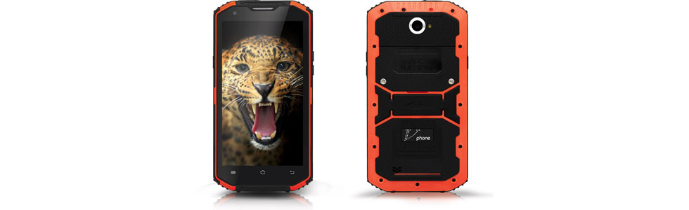 """VPhone announced the X3 - a rugged smartphone with a 5.5"""" HD screen and a 4500 mAh battery"""