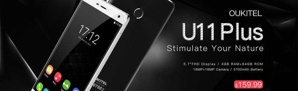 Oukitel U11 Plus showed off in a promo video, pre-orders start at USD 160
