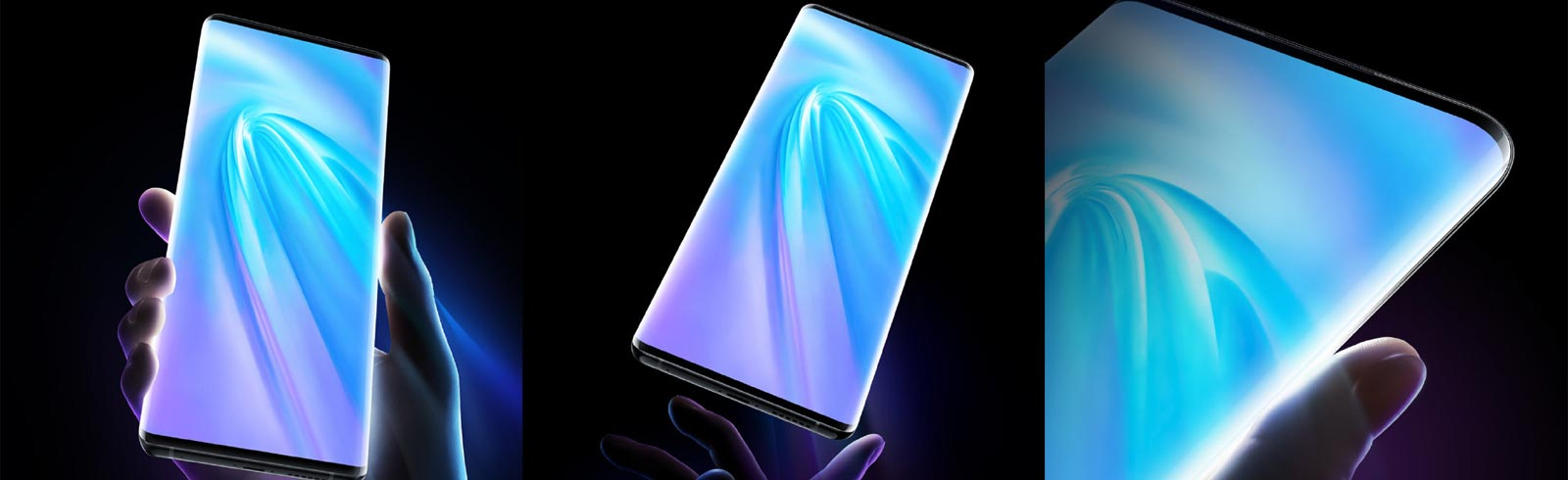 Vivo NEX 3 5G appears on official renders unveiling its front design