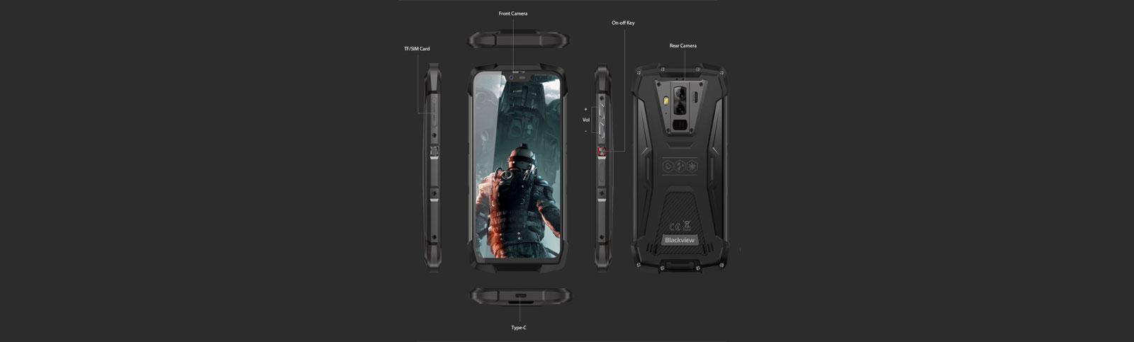 Blackview BV9700 Pro available on Indiegogo with 30% discount