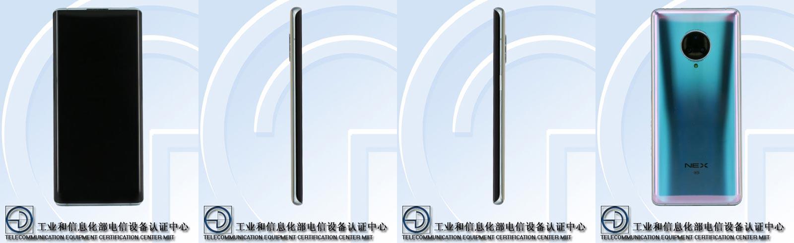Vivo NEX 3 5G appeared on TENAA, main specs confirmed
