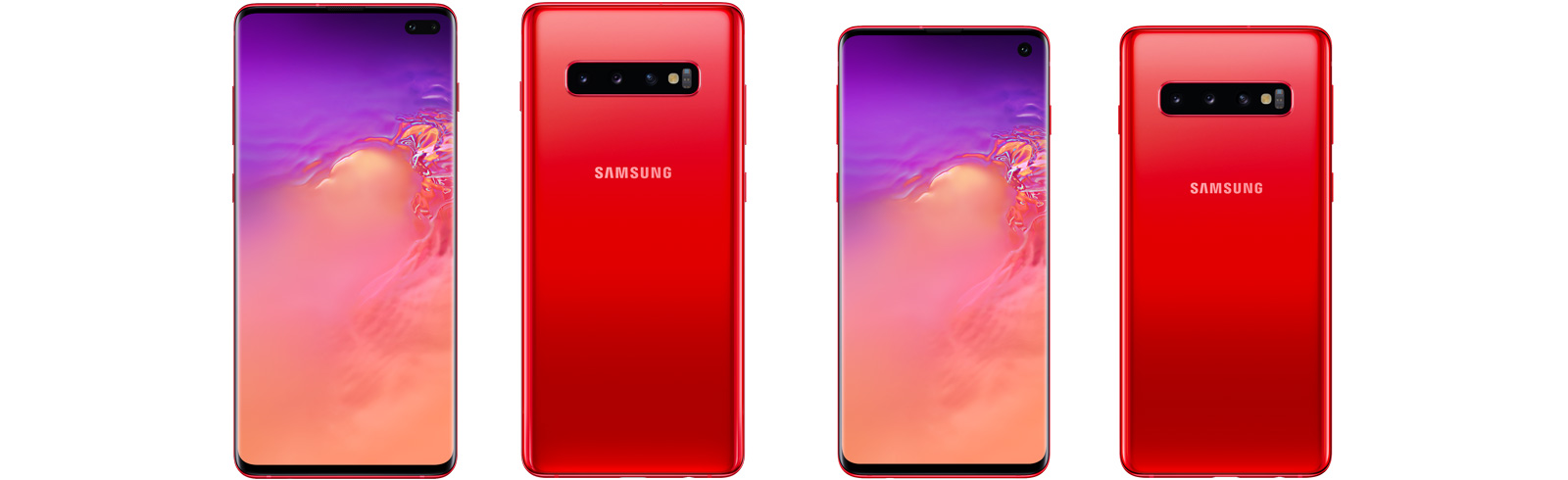 Samsung launches Galaxy S10 and Galaxy S10+ in Cardinal Red