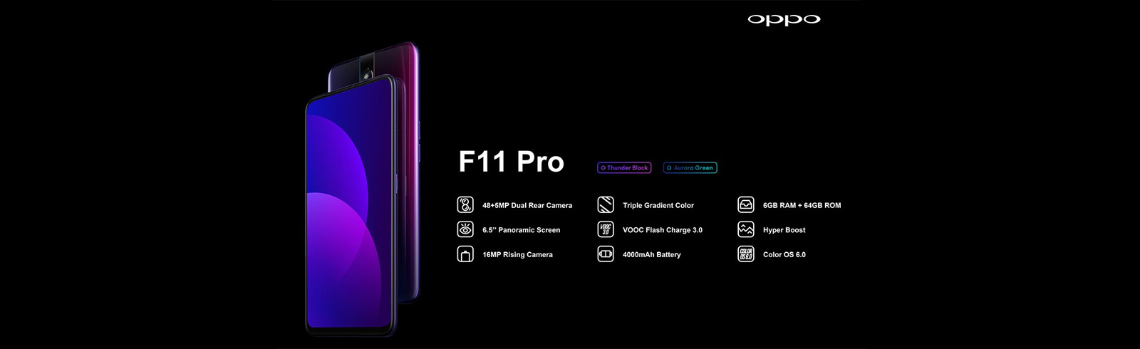 Oppo F11 Pro and Oppo F11 go official with 48MP primary cameras