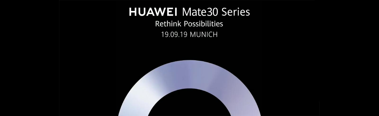 The Huawei Mate 30 series will be announced on September 19th
