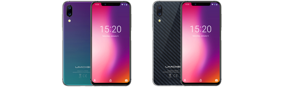UMiDiGi One and UMiDiGi One Pro are announced with stereo speakers and side-mounted fingerprint sensor