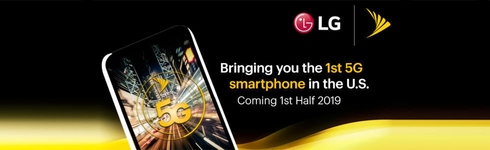 Sprint and LG to launch the first 5G smartphone in the US in the first half of 2019