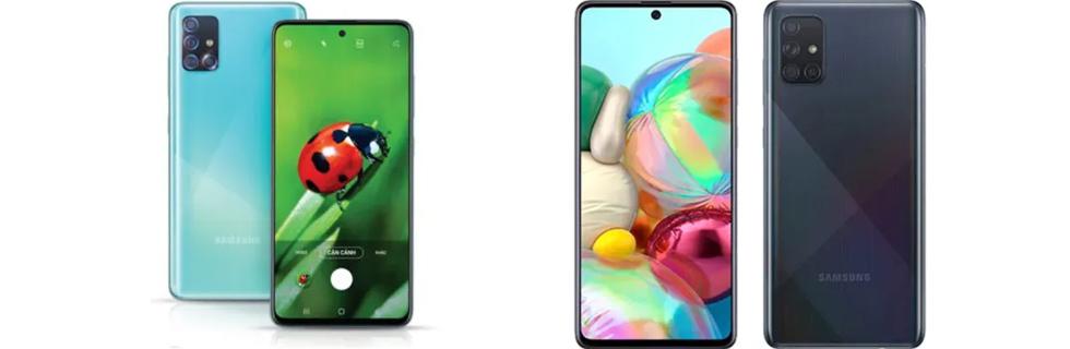 Samsung Vietnam announces the Galaxy A51 and Galaxy A71