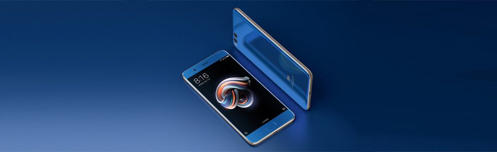 Xiaomi Mi Note 3 unveiled along with the Mi MIX 2