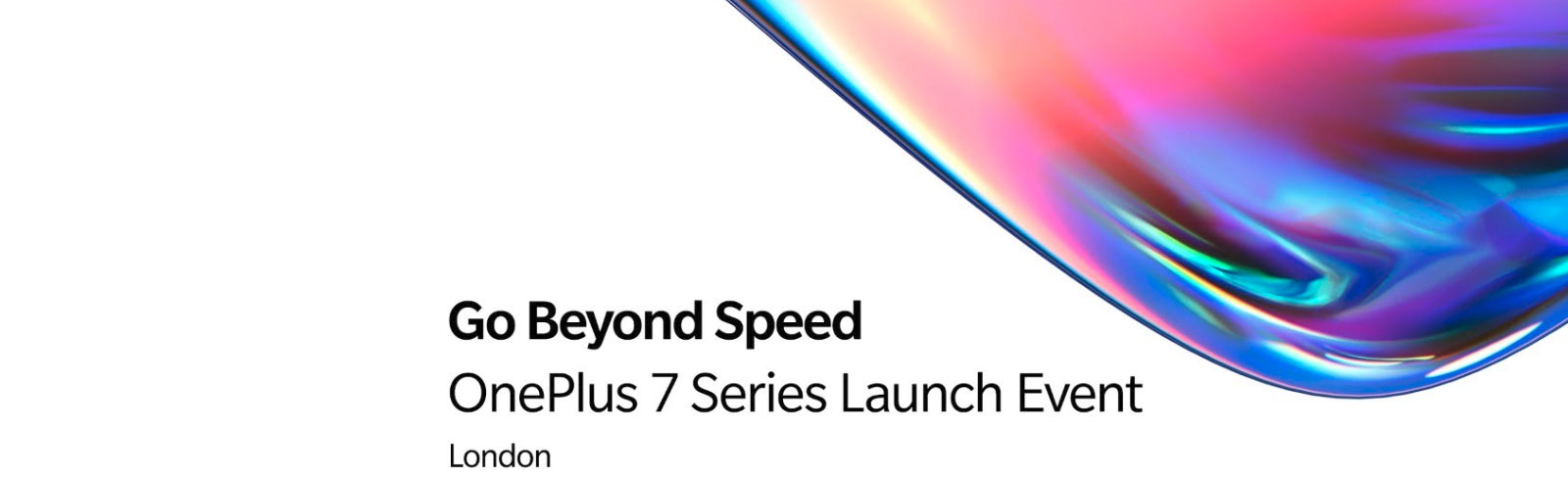 OnePlus 7 and OnePlus 7 Pro launch event live stream