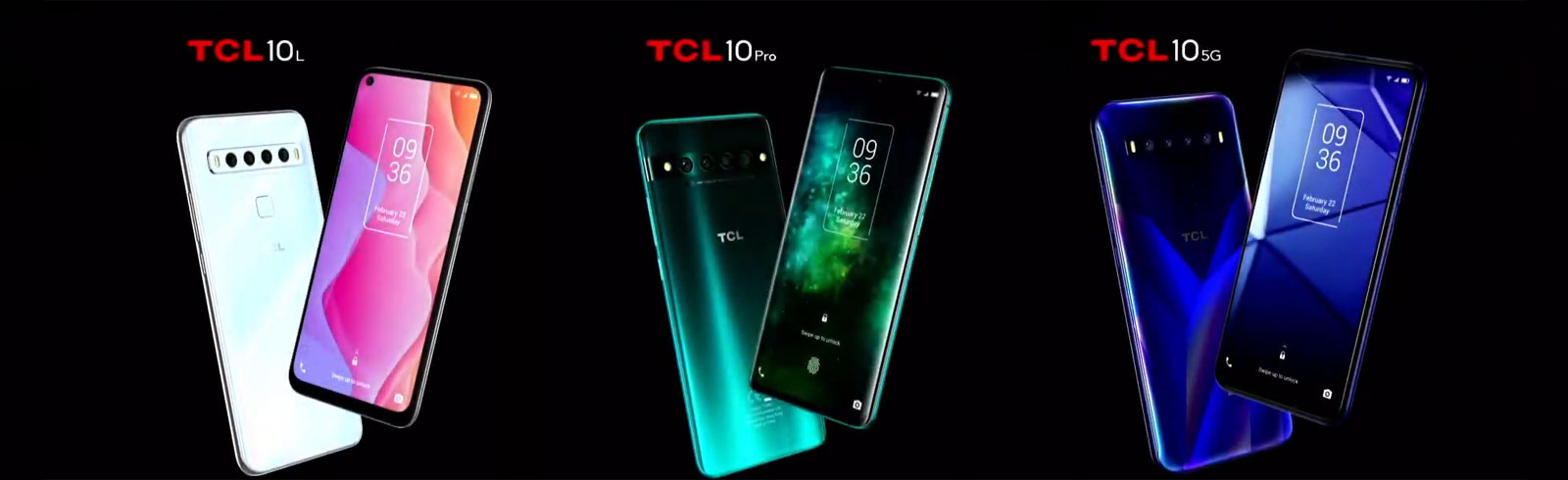 TCL 10L, TCL 10 Pro, TCL 10 5G and TCL Foldable are teased with 64MP cameras, will be announced at MWC 2020