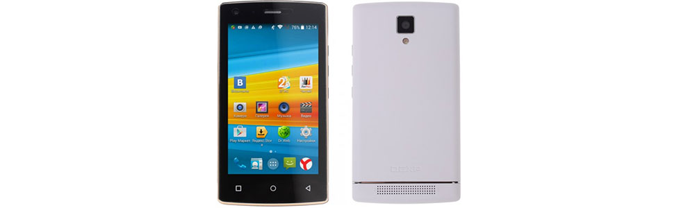 DEXP Ixion XL240 Triforce is the world's smallest smartphone with an 8-core CPU