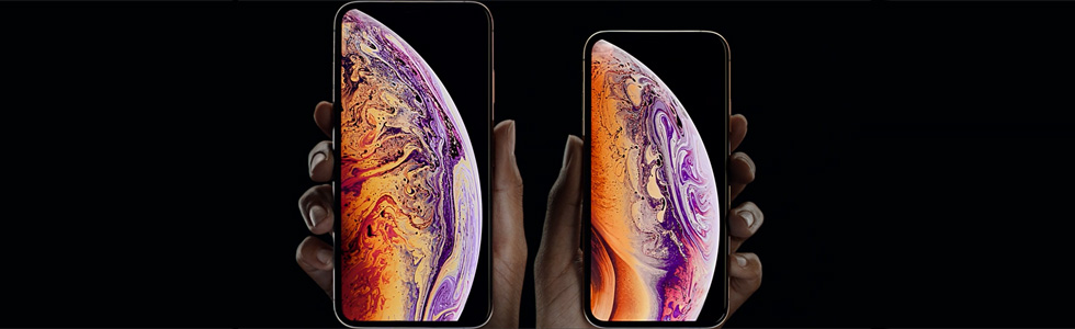 Apple presents the iPhone Xs and iPhone Xs Max