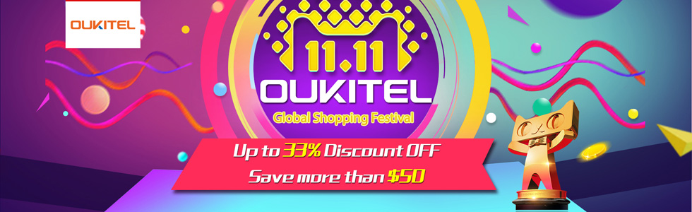 Oukitel smartphones are ridiculously cheap for 11.11