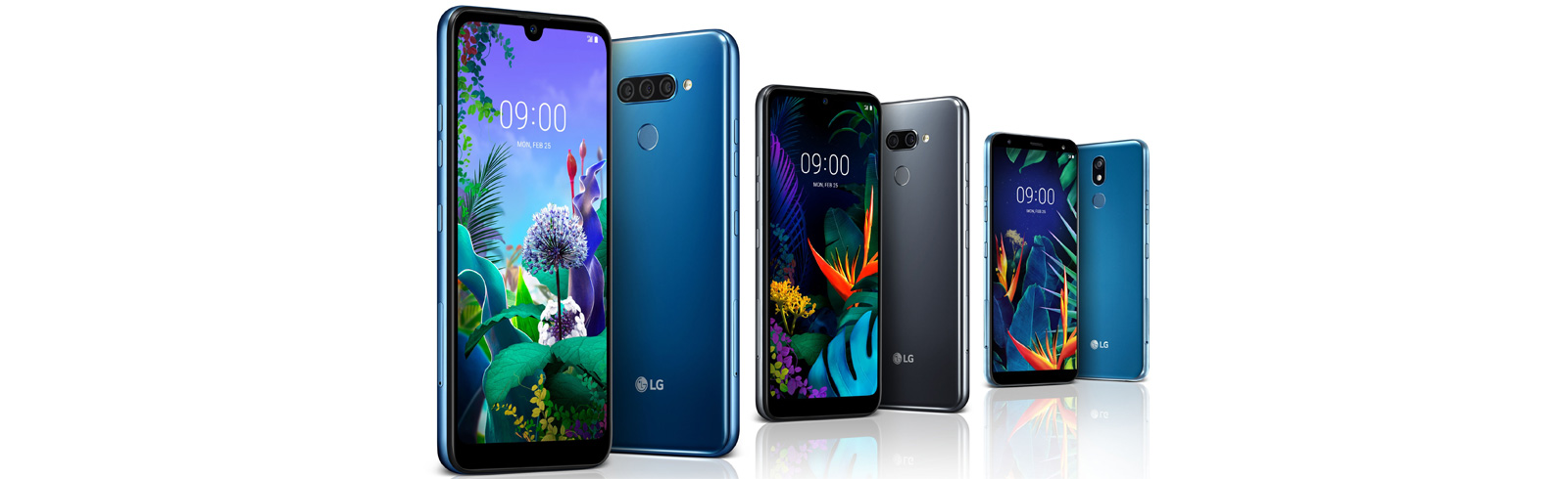 LG unveils the LG Q60, LG K50 and LG K40, will be showcased at the 2019 MWC