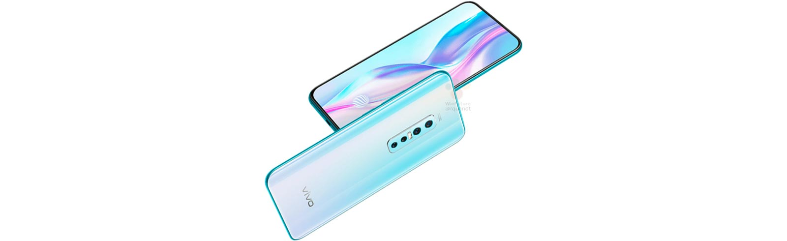 Vivo V17 Pro with two front pop-up cameras photos and specifications leak
