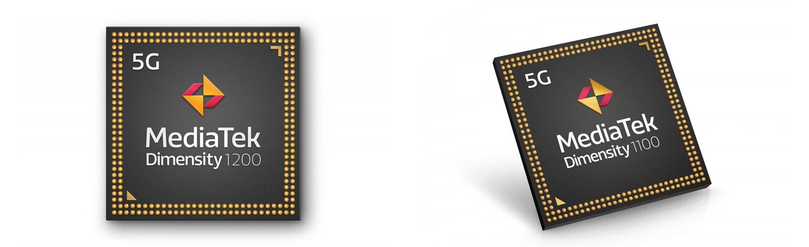 MediaTek presented the Dimensity 1200 and Dimensity 1100 6nm chipsets