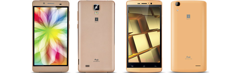 iBall unveiled two 4G smartphones based on a MT6735M chipset