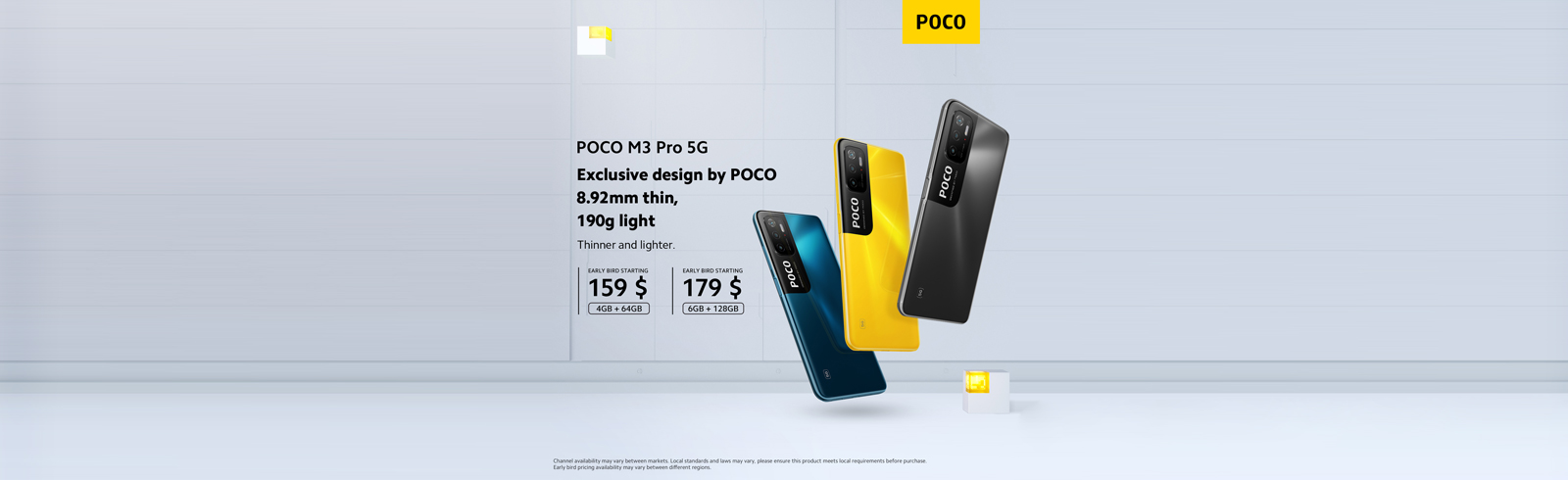 POCO M3 Pro - specifications, prices, coupon codes for discounts