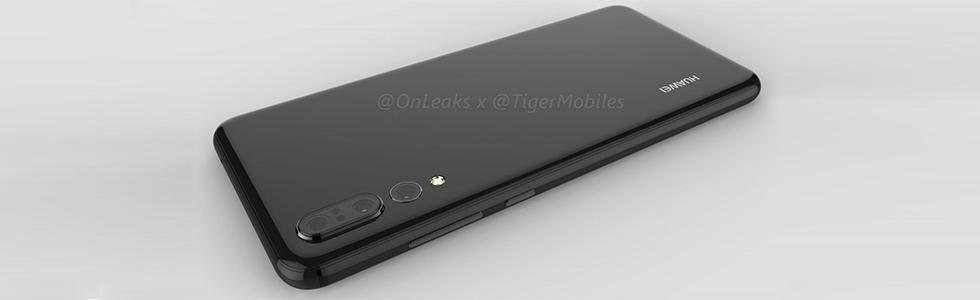Huawei P20 Plus renders leak unveiling a trio of rear cameras