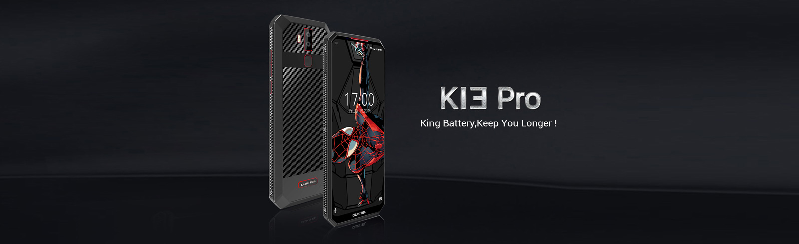 Oukitel is back with a bang, announces the K13 Pro with an 11,000 mAh battery and 30W fast charging