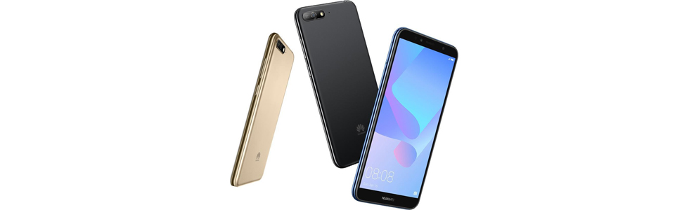 Huawei lists the new Y6 (2018) with a FullView display and powerful speaker